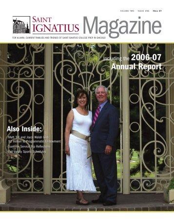 St Ignatius Mag S07 - St. Ignatius College Prep