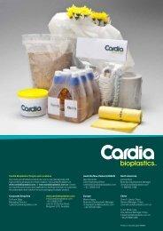 + Cardia Bioplastics Information Flyer