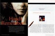 Hands that Remember - University of Pennsylvania Museum of ...