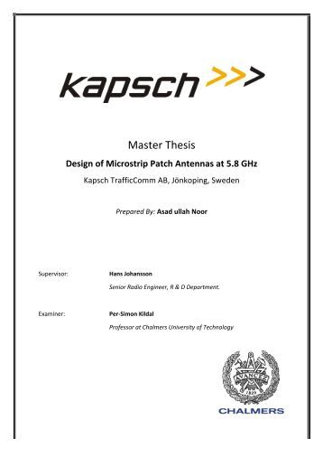 Master thesis microbiology