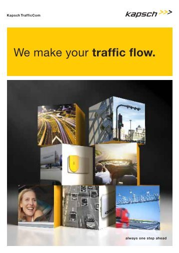 We make your traffic flow. - tagging by kapsch
