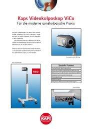 Kaps Videokolposkop ViCo - Kaps Optik GmbH