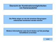 Videozubehör - Was passt wohin? - Kaps Optik GmbH