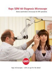 Kaps SDM 60 Diagnosis Microscope - KEBOMED
