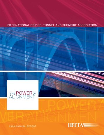 2003 Annual Report - International Bridge, Tunnel and Turnpike ...