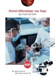 Dentalmikroskope SOM 32/62 - Kaps Optik GmbH
