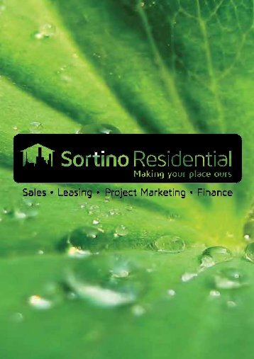 SORTINO Property Magazine - Sortino Residential