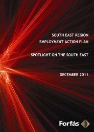 SOUTH EAST REGION EMPLOYMENT ACTION PLAN ... - Forfás