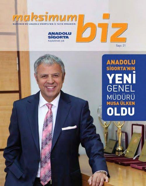 Agustos 2012 - Anadolu Sigorta