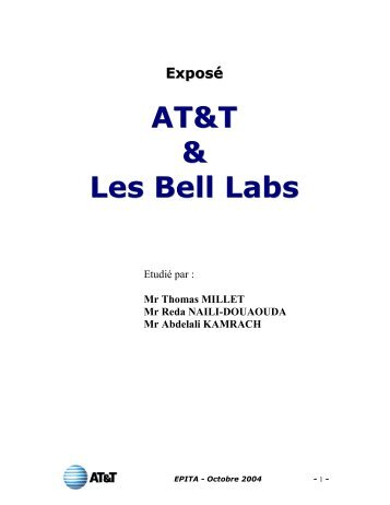 AT&T & Les Bell Labs