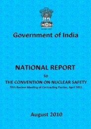 Report - Atomic Energy Regulatory Board
