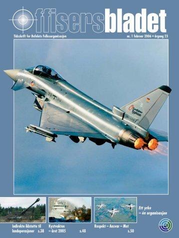 Offisersbladet NR 1 2006