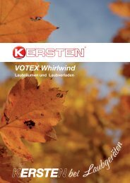 VOTEX Whirlwind - Kersten Maschinen  GmbH