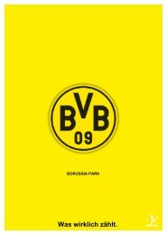 Was wirklich zählt. - Borussia Dortmund