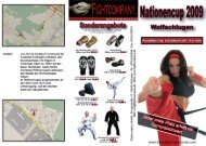 Nation Cup 2009 - Budo Sport Report