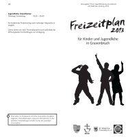 Freizeitplan Gravenbruch 2013 - Neu-Isenburg