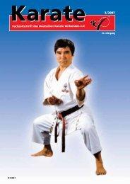 DKV-Magazin Nr. 3 - Chronik des Karate