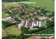 Liliencron-Sportpark Kellinghusen Runder Tisch der Sportvereine ...