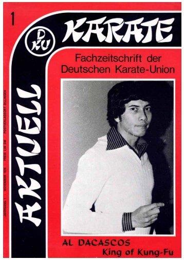 DKU-Nachrichten Nr. 1 - Chronik des Karate