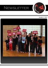 Ausgabe 2 / 2012 - Sportkarate Peine eV