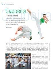Capoeira - Spielerischer Kampf - Schlossallee