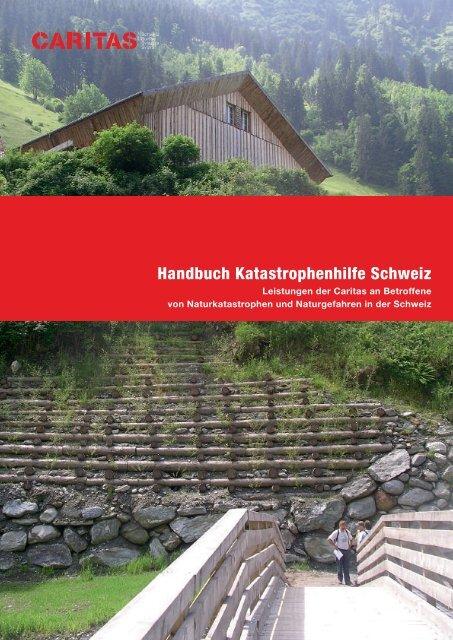 Handbuch Katastrophenhilfe Schweiz - CARITAS - Schweiz