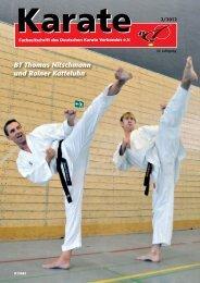 BT Thomas Nitschmann und Rainer Katteluhn - Chronik des Karate
