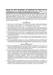 Satzung der Stadt Bergneustadt zur Abänderung der Fristen bei der ...