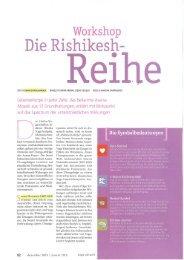 Die Rishikesh Reihe (Yoga aktuell, Dez. 2009 - Sivananda Yoga
