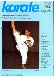 DKV-Magazin Nr. 5 - Chronik des Karate