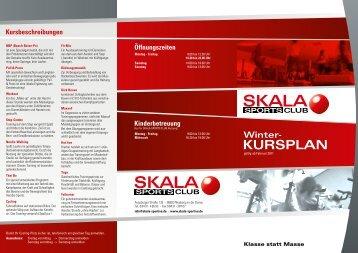 KURSPLAN - Skala Sportive