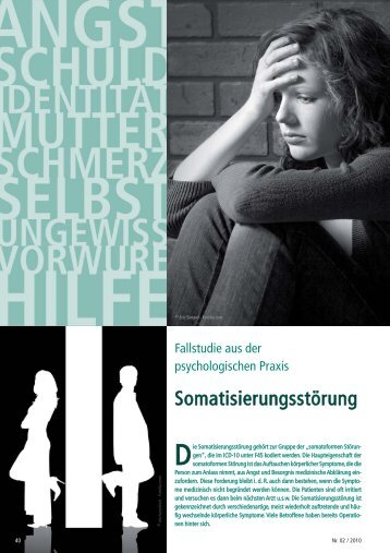 Fallstudie Somatisierungsstörung
