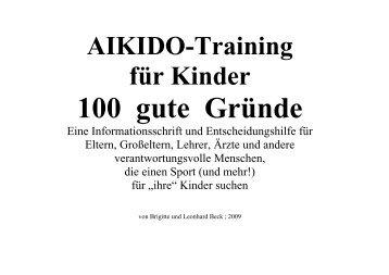 zum 22-seitigen pdf - Aikido Beck