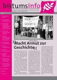 *Bistumsinfo 2/2005 - Pax Christi Limburg