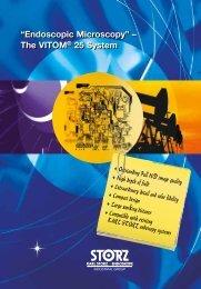"""""""Endoscopic Microscopy"""" – The VITOM® 25 System - Karl Storz"""
