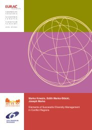 Elements of Successful Diversity Management in Conflict ... - Eurac
