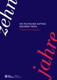 10 Jahre Gleichstellungsamt (PDF-Datei, 1,5 MB - Stadt Heidelberg