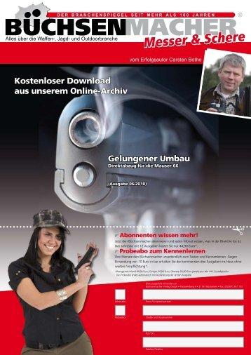 Download Artikel, (1,2 MB) - Die Kesslerin von Waffen Kessler