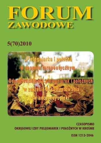 zawOdOwe - Okręgowa Izba Pielęgniarek i Położnych w Krośnie