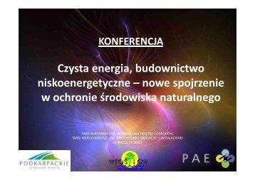Prezes Kinga Kalandyk Targi budownictwa PAE.pdf - Podkarpacka ...