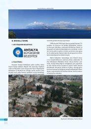 Büyükşehir Belediyesi - Antalya İl Kültür ve Turizm Müdürlüğü