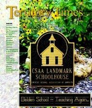November 2011 - The Galena Territory