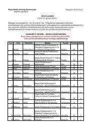 wyniki konkursu - Szkoła Podstawowa nr 14 w Przemyślu
