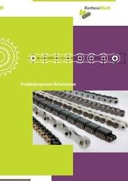 Produktprogramm Rollenketten - KettenWulf Betriebs GmbH