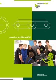 Junge Karriere@KettenWulf - KettenWulf Betriebs GmbH