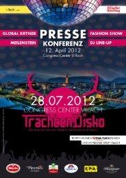 Pressemappe TrachtenDisko