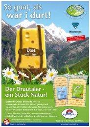 Kärntnermilch - Produkte auf www.kaernten.at
