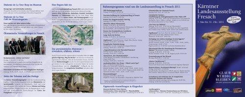 Kärntner Landesausstellung Fresach - Gustav-Adolf-Werk eV