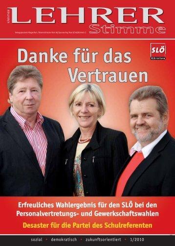 Ausgabe 1 2010 - SLÖ Kärnten