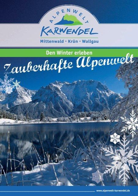 Winterbroschüre - Alpenwelt Karwendel